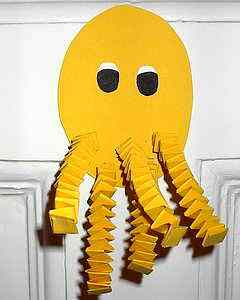 Костюм осьминога своими руками из бумаги
