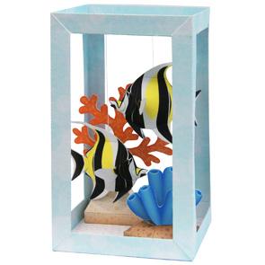 Бумажный аквариум с мавританскими идолами