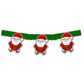 Гирлянда - Санта Клаус