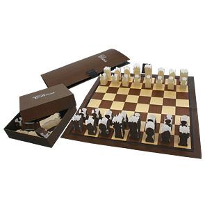 Шахматы из бумаги