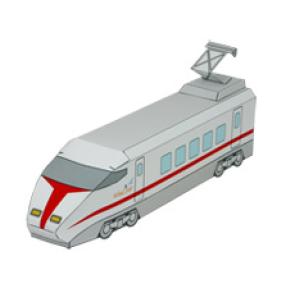 Локомотив скорого поезда