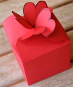Коробка подарочная своими руками из картона схема