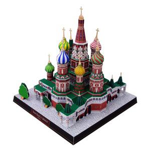 Поделки храмов из картона 5