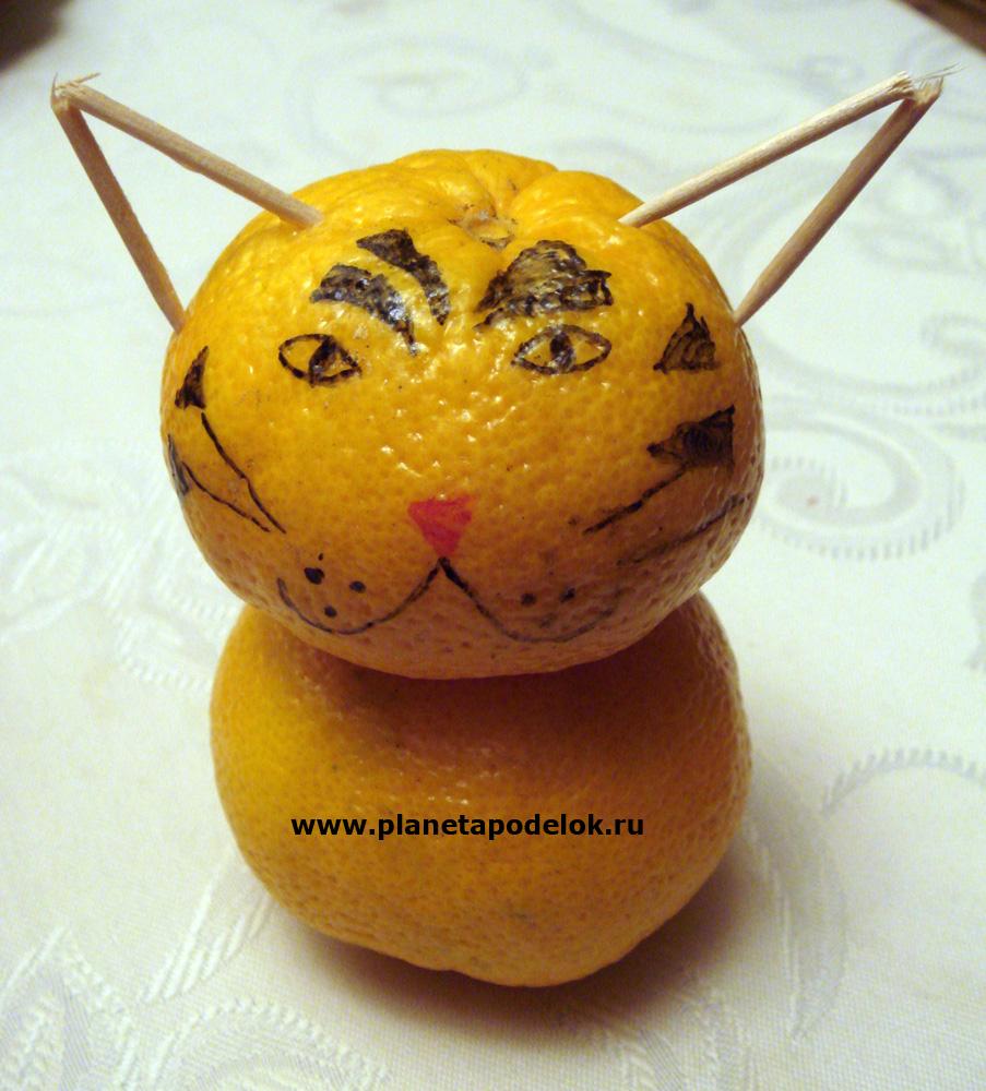 Поделка из апельсина в детский сад 2