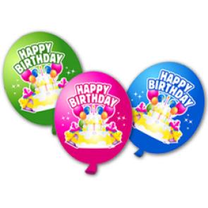 Настенная декорация - шарики ко дню рождения