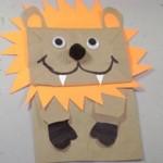 Лев из бумажного пакета