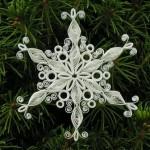 Снежинка (квиллинг)