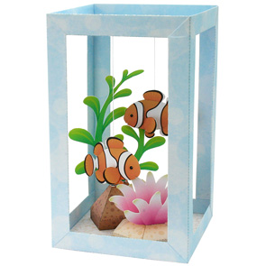 Рыбки-клоуны в аквариуме