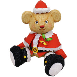 Новогодний костюм для плюшевого медвежонка