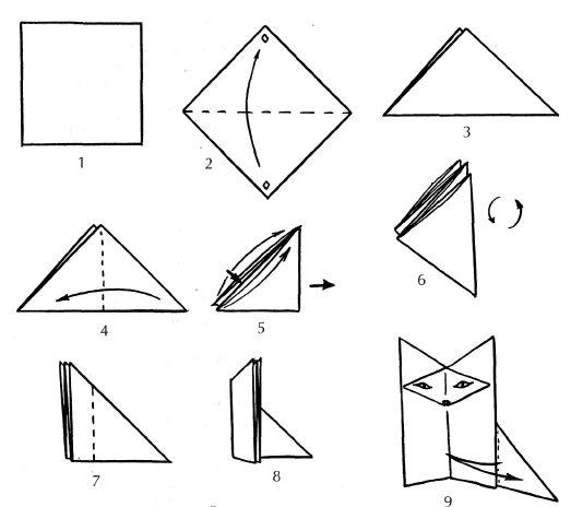 Сказка-оригами о Нарциссе и