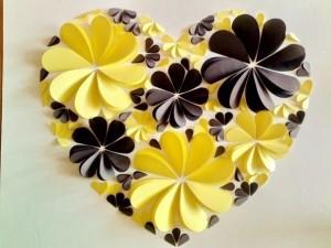 Жёлто-чёрное сердце