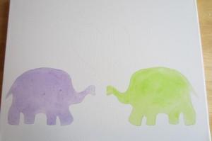 Как закрашивать пространство под двумя слонами