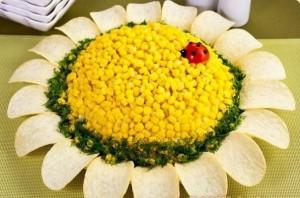 Подсолнух - салат
