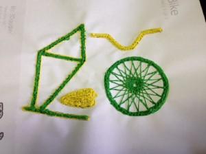 Создание велосипеда 3D ручкой на шаблоне