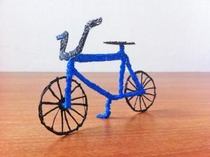 Велосипед сделанный 3D ручкой