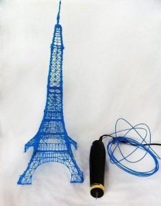 Синяя Эйфелева башня