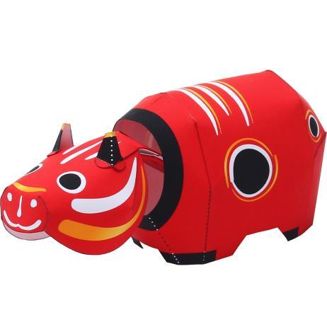 Красный бык Акабеко